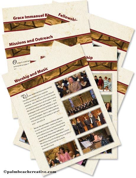church directory design annual report design portfolio palm