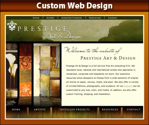 Custom Web Design by Linda R. King